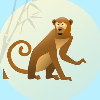 обезьяна гороскоп 1992